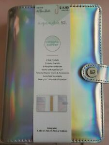 The Paper Studio Agenda 52 Personal medium Holographic Planner Binder Only