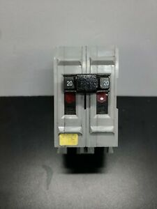 Wadsworth Replacement Ubi A220ni 2p 20a 120 240v Circuit Breaker