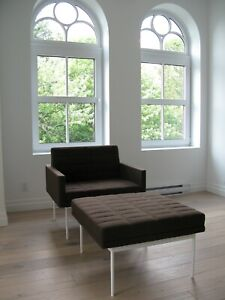 Rare Herman Miller Tuxedo Lounge Seating Designed By Bassamfellows For Geiger