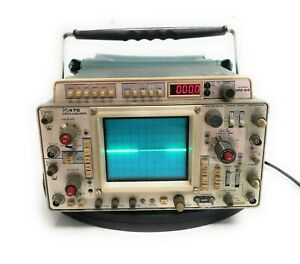 Vintage Tektronix 475 Dual Channel Oscilloscope 200mhz Opt 1 W Dm 44 Multimeter