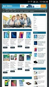 Amazon Tablets Profitable Website Unlimited Products Affiliate Store
