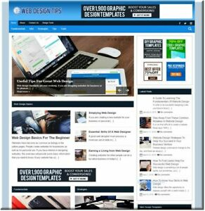 Webdesign Graphics Ready Business Website For Sale Money Making Online Affiliate