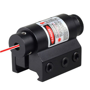 Red Laser Sight For Rifle Scope Airsoft With 20mm Weaver Picatinny Rail Mount C $13.99