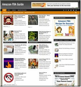 Amazon Fba Profitable Website Unlimited Products Affiliate Store