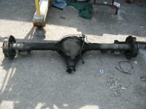 1968 Camaro 10 Bolt Differential W brakes Leaf Springs Good Working Condition