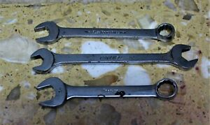 Lot Of 3 Wrenches 3 4 Snap On Oex240 5 8 3 4 Cornwell 11 16 Blue Point B022