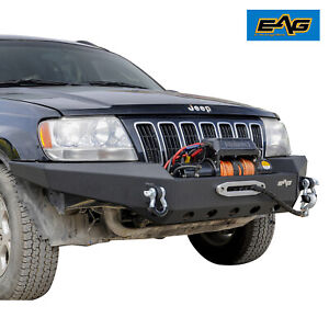 Eag Assembled Front Bumper Fit 99 04 Jeep Grand Cherokee Wj
