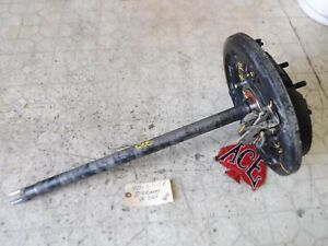 86 88 Toyota Pickup 4x4 86 89 4runner Right Rear Axle Shaft W Backing Plate