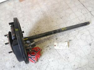 86 88 Toyota Pickup 4x4 86 89 4runner Left Rear Axle Shaft W Backing Plate