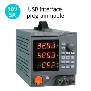 Programmable Dc Power Supply 0 30 V 0 5 A Hm305p Variable Switching Digital