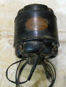 Antique Wards Blue One 1 4 Hp Electric Motor Runs Great Montgomery Wards