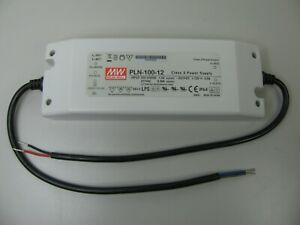 Mean Well Pln 100 12 12v 5 Amp 60w Dc Power Supply Led Drive Applications