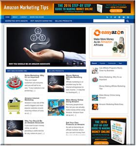 Amazon Marketing Profitable Website Unlimited Products Affiliate Store