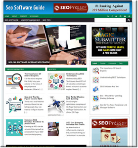 Seo Software Keyword Traffic Profit Website For Sale Make Money Online Affiliate