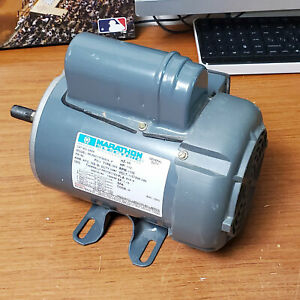 G339 1 2 Hp 1725 Rpm Marathon Electric Motor 56 Frame Nos Made In Usa