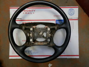 95 01 Ford Ranger Steering Wheel Black F77z 3600 Aa F87z 3600 Aa