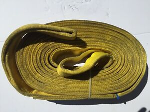 Carolinas Rigging Crane Nylon Lifting Strap 30ft X 4in Eef2 904 Made In Usa