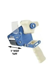 New Uline H 596 Packing Tape Dispenser Gun 3 inch 3 Side Load 1ct