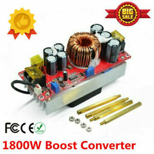 1800w 40a Dc dc Boost Converter Step Up Power Regulator Module Constant Current
