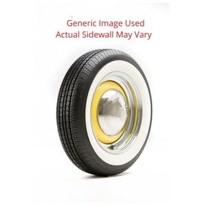 155 80r13 668 Nankang Tire With 2 25 White Wall Modified Sidewall 1 Tire