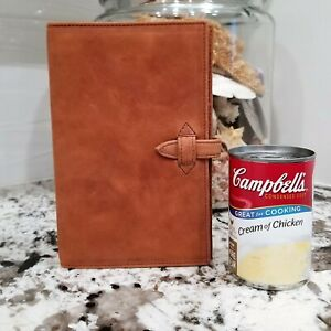Leather Organizer Buffalo Compact Agenda Planner 6 Ring 8 By 5 No Paper New
