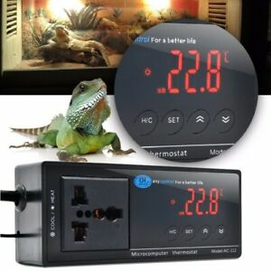 Digital Led Temperature Controller Thermostat For Aquarium Reptile 110v 220v