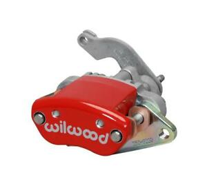 Wilwood Disc Brakes Caliper mc4 l h Red W Logo