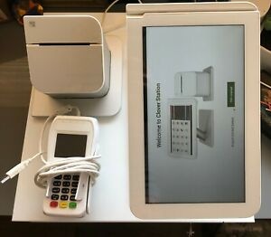 Clover C100 Station 1 0 Point Of Sale System Complete Pos Setup Pro Used