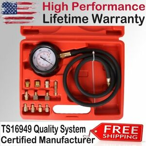 500 Psi Automatic Transmission Engine Oil Pressure Tester 3 Gauge Diagnostic