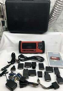 Snap on Solus Eesc310 Auto Scanner V 11 4 W Personality Keys Adapters Case
