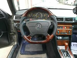 Mercedes Benz Amg Look W124 W210 W208 W140 R129 Steering Wheel Burl Wood Walnut