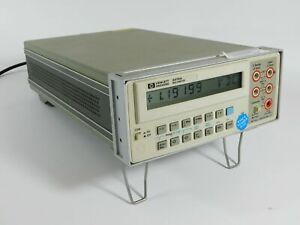Hp 3478a Bench Multimeter Test Equipment last Calibrated In 2009