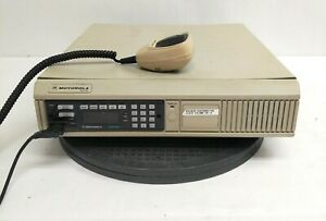 Motorola Astro Xtl5000 800mhz N Dispatch Consolette L20urs9pw1an With Hand Mic