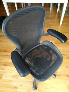 philly nj herman Miller Aeron Office Chairs b c Black Excellent Condition