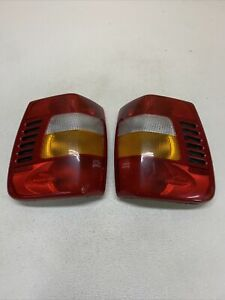 99 02 Jeep Grand Cherokee Driver Passenger Side Tail Lights Oem
