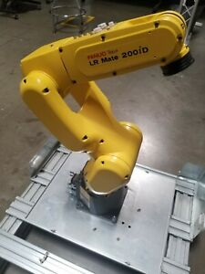 Fanuc Lr Mate 200id Industrial Robot With R 30ib Very Clean Low Hour Demo