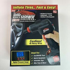 Air Hawk Pro Automatic Cordless Tire Inflator Air Pump