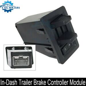 In Dash Trailer Brake Controller Module Jl3z2c006aa Fit For 2015 2020 Ford F 150