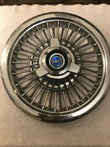 1965 1966 Ford Galaxie Mustang 15 In Wire Spinner 1 Hubcap Wheel Cover Vintage