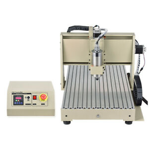 Usb 3 4axis Cnc 3040 6040 6090 Router Engraver Engraving Machine Milling Cutter