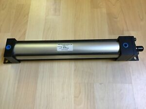 Trd Cyl 8751024 Pneumatic Cylinder 2 Bore X 12 Stroke Single Rod 250 Psi