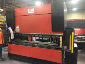 Used 2004 187 Ton X 10 Amada Hfe 1703 Hydraulic Cnc Press Brake