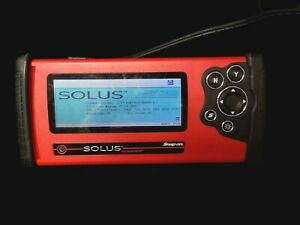 Ma2 Snap On Eesc310a Solus Automotive Scanner With Attachments Case Used