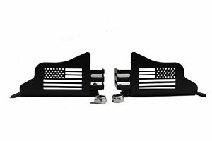 Auto Parts Prodigy Metal Front Foot Pegs With U S Flag Style For 2018 2020 Jeep