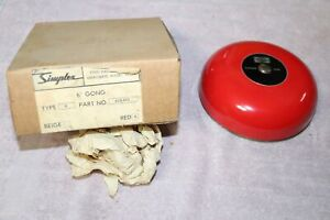 Nos Simplex Time Recorder 624 503 Red 6 Gong Type 6