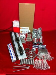 Buick 425 Deluxe Engine Kit Pistons Cam Valves Gaskets Rockers 1963 66