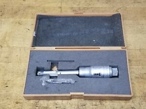 Mitutoyo 5 6 Bore Micrometer Digit Intrimike Hole Gage