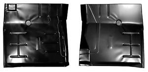 Front Cab Floor Pan Half 72 93 Dodge Pickup Ramcharger Pair