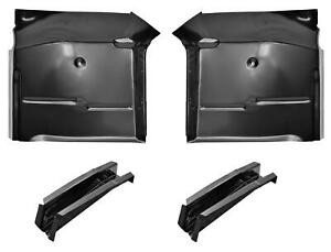 Cab Floor Pan Sections Floor Supports Kit For 67 72 Chevy Gmc Pickup Blazer