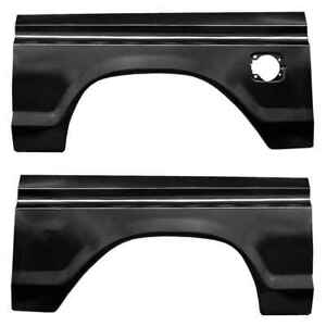 Rear Wheel Arch With Square Gas Hole Kit For 77 79 Ford F350 Super Duty Pair